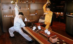 Tea Art Performance