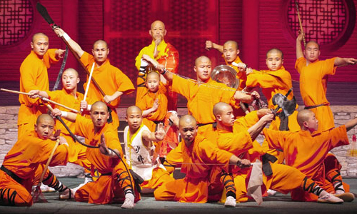 shaolin performance